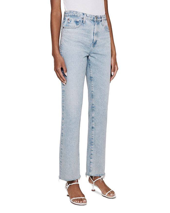 AG - Alexxis Straight Leg Jeans in Fame