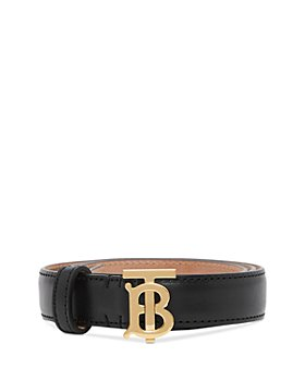 Burberry - Monogram Motif Leather Belt