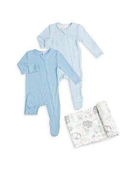 Angel Dear - 3-Pc. Set Footies & Swaddle Blanket - Baby