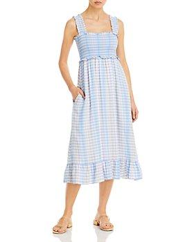 Rails - Rumi Smocked Bodice Midi Dress