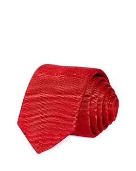 BOSS - Tonal Micro Dot Silk Skinny Tie