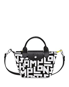 Longchamp - Mini Logo Top Handle Bag