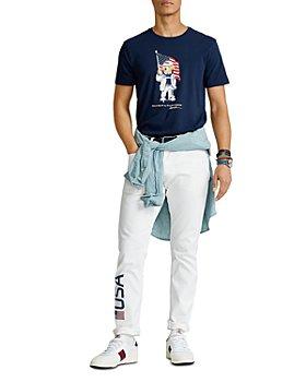 Polo Ralph Lauren - Team USA ECOFAST™ Pure Polo Bear Tee & Closing Ceremony Sullivan Slim Fit Jeans