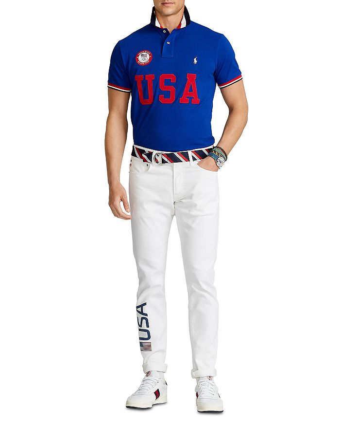 Polo Ralph Lauren - Team USA ECOFAST™ Polo Shirt & Closing Ceremony Sullivan Slim Jean