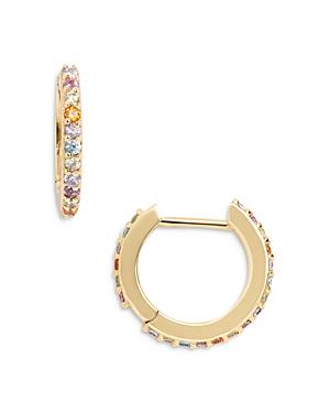 Baublebar Niata Sparkle Hoop Earrings