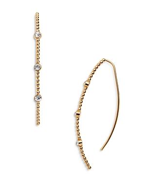 Baublebar Winifred Crystal & Bead Threader Earrings