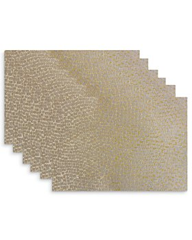 Benson Mills for Bloomingdale's - Alloy Woven Placemats, Set of 6 - 100% Exclusive
