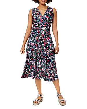 Cindy Printed Midi Dress