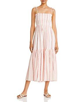 Joie - Jailene Smocked Midi Dress