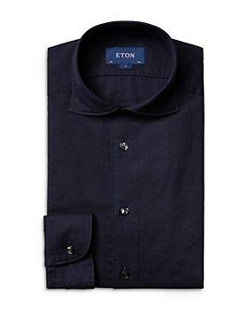 Eton - Contemporary Fit Textured Garment Wash Shirt