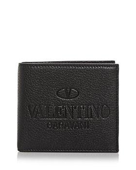 Valentino Garavani - Logo Leather Bifold Wallet