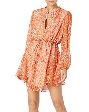 Milly Natasha Silk Mini Dress