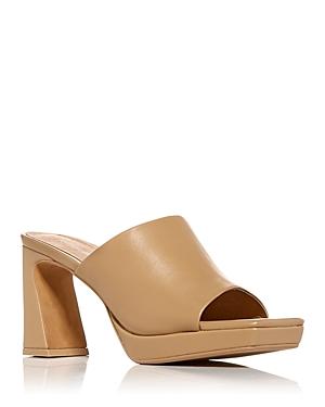 Women's Caviar Platform High Heel Slide Sandals
