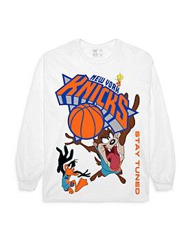 Bleacher Report - Cotton Knicks Long Sleeve Tee