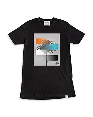 Palms Gradient Premium Cotton Graphic Tee