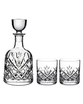 Waterford -  3 Piece Patterson Decanter & Tumbler Set