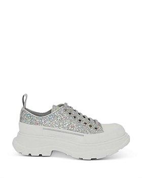 Alexander McQUEEN - Women's Tread Slick Glitter Low Top Platform Sneakers