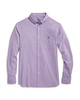 Vineyard Vines - Tattersall Regular Fit Performance Shirt