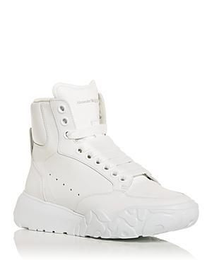 Alexander McQueen Women's High Top Sneakers