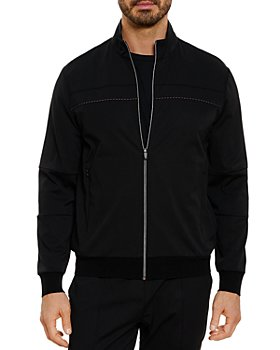 Robert Graham - Paynes Technical Stretch Classic Fit Full Zip Track Jacket