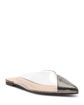 SCHUTZ - Women's Briane Pointed Toe Flats