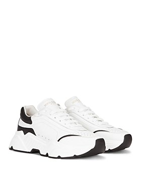 Dolce & Gabbana - Men's Daymaster Chunky Leather Lace Up Sneakers