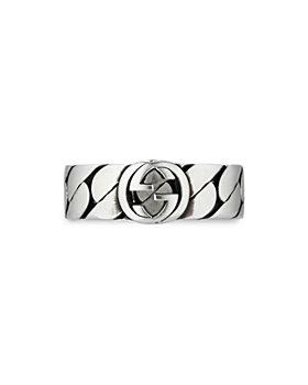 Gucci - Gucci Interlocking G Chain Motif Statement Ring Collection