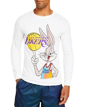 Bleacher Report - Cotton Bugs Bunny Lakers Long Sleeve Tee