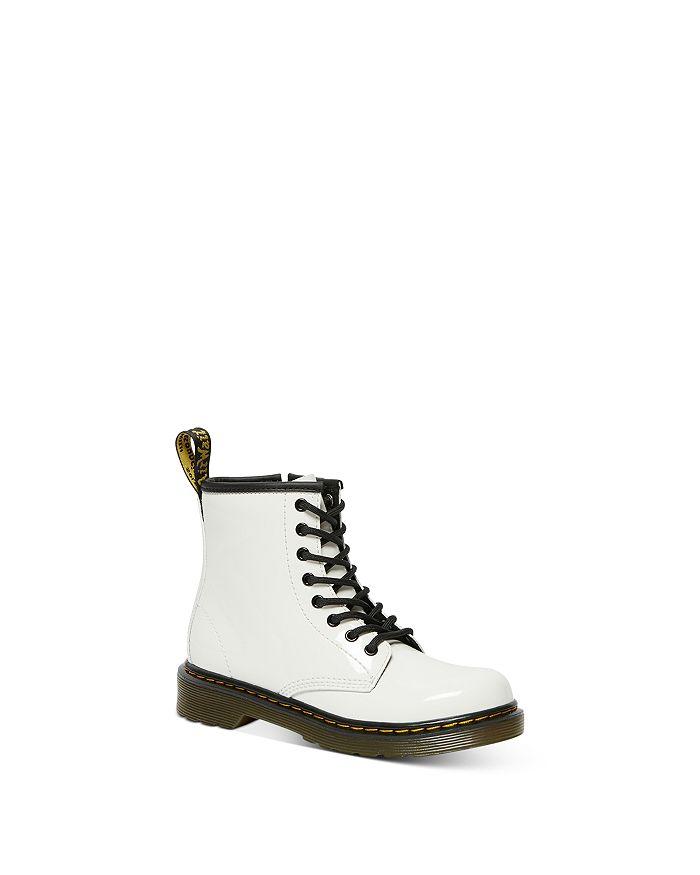 Dr. Martens - Unisex 1460 Patent Lace & Zip Up Boots - Toddler, Little Kid