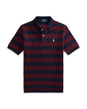 Ralph Lauren - Boys' Wide Stripe Polo Shirt - Little Kid, Big Kid