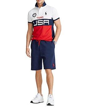 Polo Ralph Lauren - Team USA Stretch Mesh Polo Shirt & 9.5-Inch Shorts