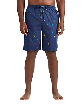 Polo Ralph Lauren - Cotton Signature Pony Print Relaxed Fit Pajama Shorts