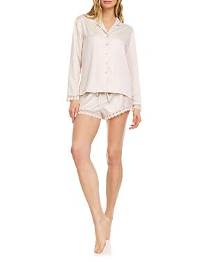 Victoria Charmeuse Shorts Pajama Set