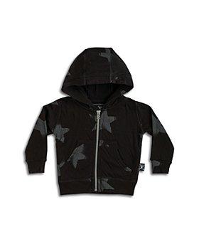 NUNUNU - Unisex Star Print Cotton Hoodie - Baby