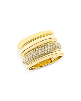 Bloomingdale's - Pave Diamond Statement Ring in 14K Yellow Gold, 0.60 ct. t.w. - 100% Exclusive