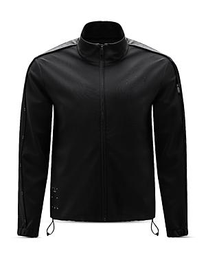 Front Zip Track Sweatshirt