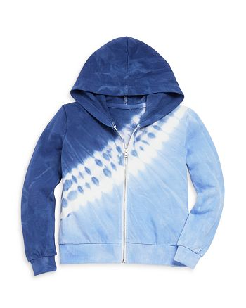 AQUA - Girls' Tie Dye Zip Hoodie, Big Kid - 100% Exclusive