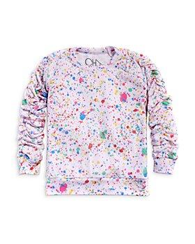 CHASER - Girls' Splatter Print Pullover - Little Kid