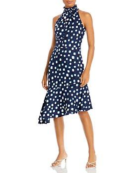 KARL LAGERFELD PARIS - Square Dotted Dress
