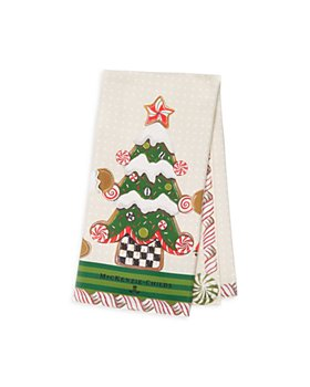 Mackenzie-Childs - Gingerbread Holiday Dish Towel
