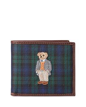 Polo Ralph Lauren - Polo Bear Tartan Billfold Wallet