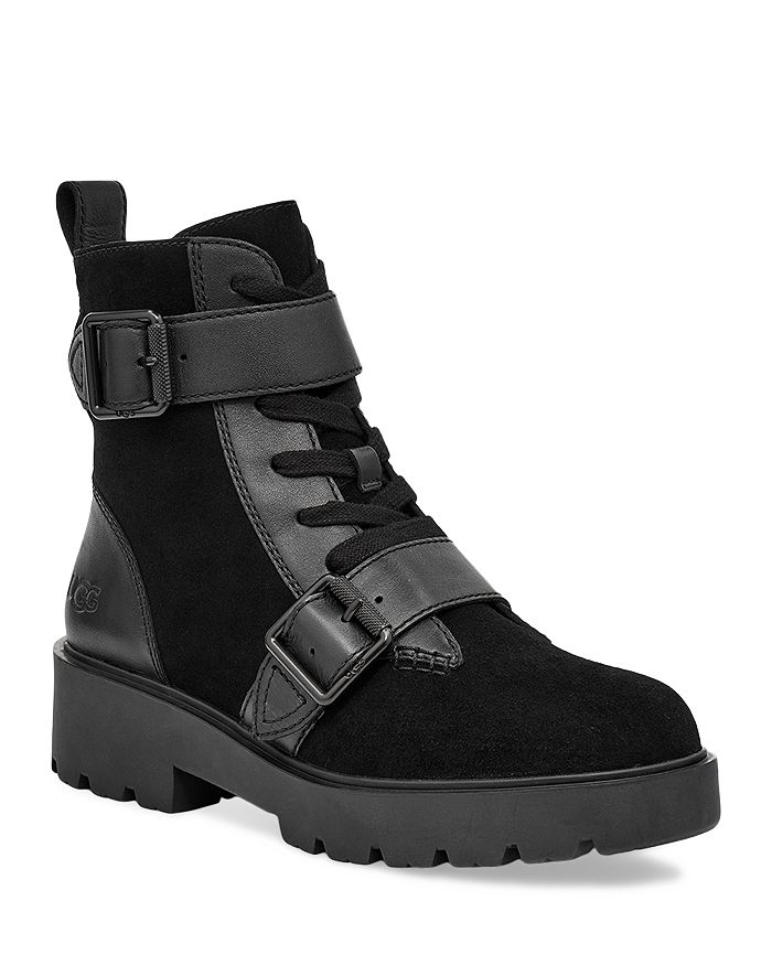 UGG® - Women's Zorrah Buckled Lace Up Booties
