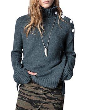 Zadig & Voltaire - Alma Cashmere Turtleneck Sweater