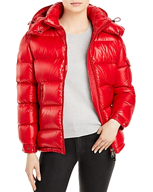 Moncler Maire Hooded Down Coat