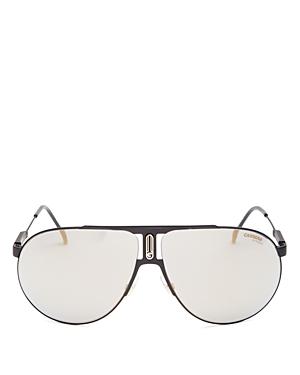 Men's Polarized Brow Bar Aviator Sunglasses