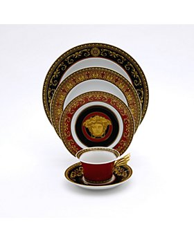 Versace - Medusa Red Dinnerware