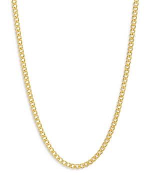 14K Gold-Plated Cuban Chain Necklace