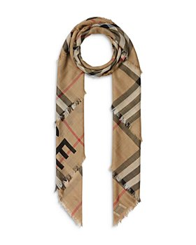 Burberry - Horseferry Check Wool & Silk Scarf