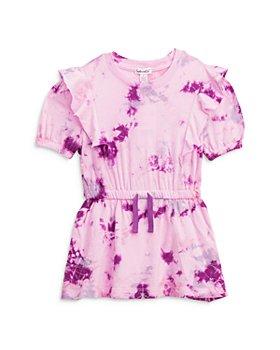 Splendid - Girls' Marbled Tie Dye Print Dress - Little Kid