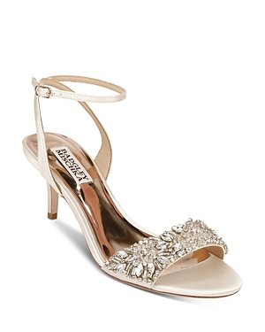 Women's Richelle Embellished Kitten Heel Sandals